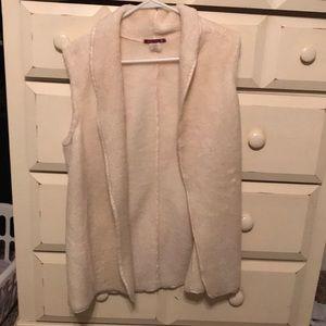 Fur Sherpa vest